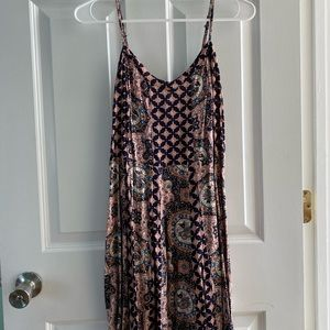 Pink Tribal Print Dress
